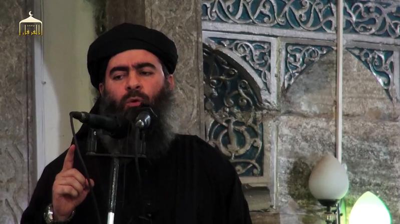 敘利亞人權觀察組織說,極端組織「伊斯蘭國」首腦巴格達迪已經死亡。(網絡擷圖)