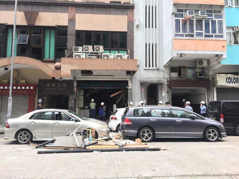 土瓜灣食肆爆炸 四傷其中一人嚴重燒傷