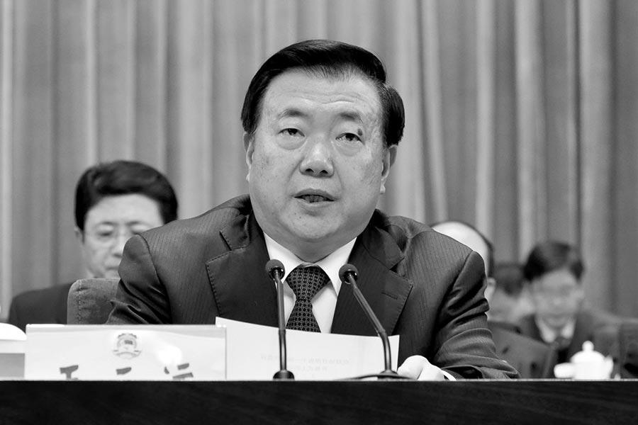 7月11日,中共人大教育科文副主任委員、甘肅前省委書記王三運被審查。(網絡圖片)