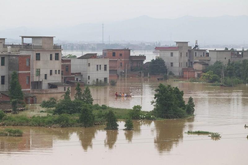 大陸多地常受嚴重暴雨和洪水襲擊。(Getty Images)