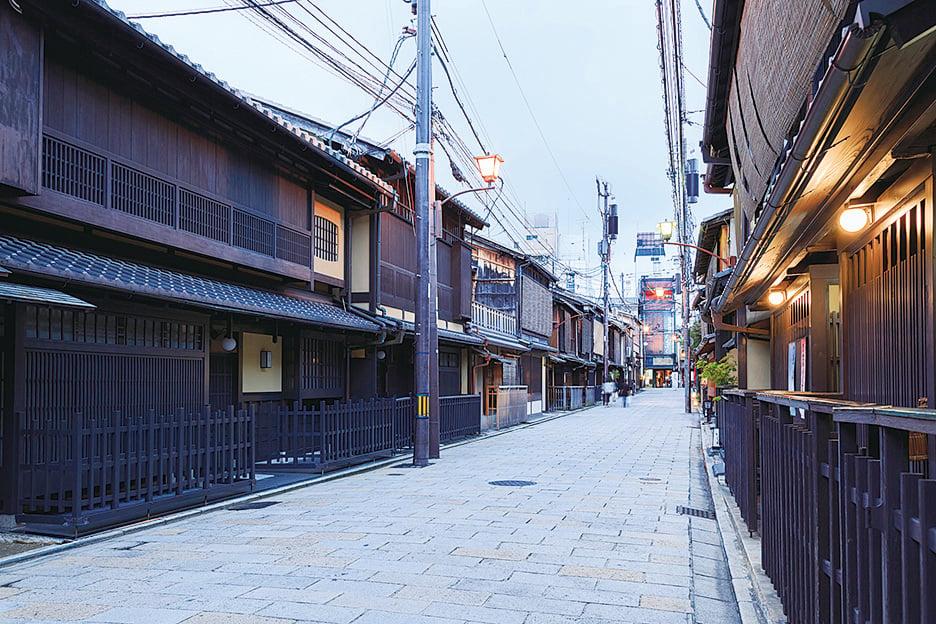 富有傳統特色的京都街道。(PIXTA)