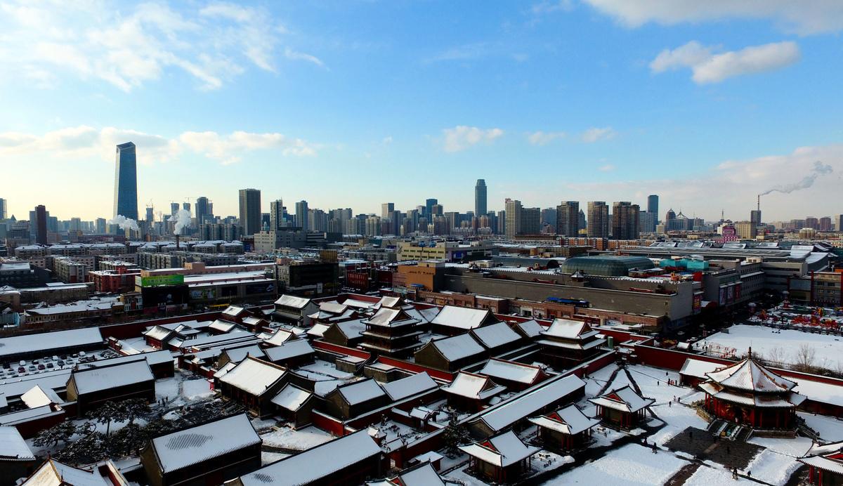雖然曾經輝煌過一時,但最近幾年東北地區經濟難言樂觀。圖為東北三省之一的遼寧省省會瀋陽。(Getty Images)
