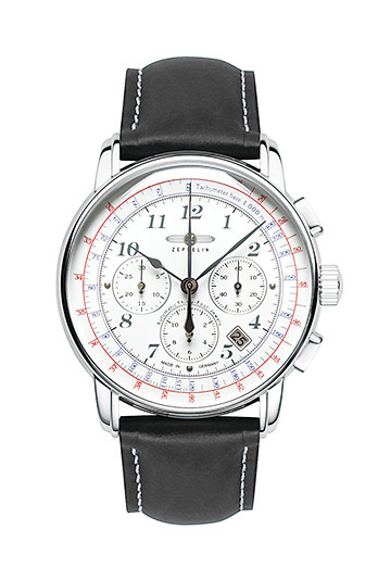 Zeppelin飛船LZ126洛杉磯系列腕錶(型號:7624)。