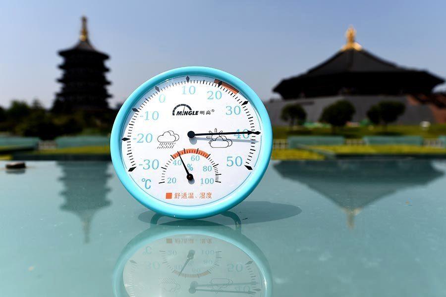 大陸多地史上最熱 寧夏164個觀測站逾40°C