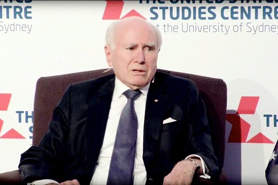 前總理霍華德:澳洲可以信任特朗普