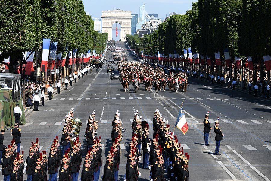 法國國慶閱兵 特朗普獲邀助興