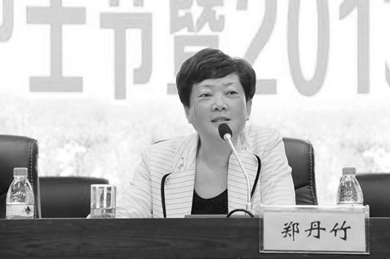 安徽省女廳官鄭丹竹近日被逮捕。(網絡圖片)