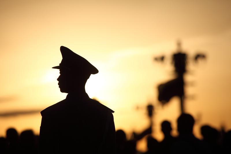 「十九大」前,中共軍方高層人事調整頻繁。(Getty Images)