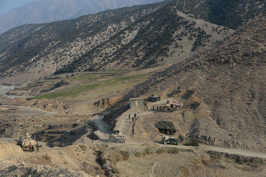 美國五角大樓周五(7月14日)表示,美軍已經在庫納爾省擊斃伊斯蘭國(IS)恐怖組織在阿富汗分支ISIS-K現任最大頭目阿布・賽義德(Abu Sayed)。(Noorullah Shirzada/AFP/Getty Images)