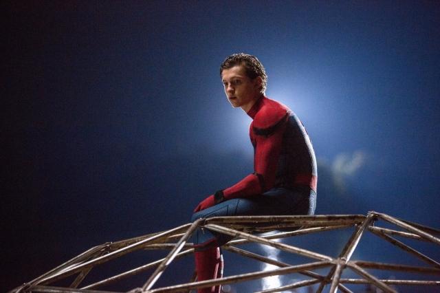 湯姆荷蘭德(Tom Holland)飾演的蜘蛛俠。(取自IMDb)