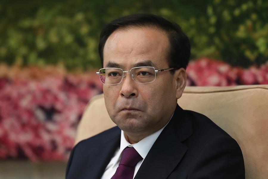 7月15日,中共重慶市委書記孫政才突然被免職,並罕見缺席重慶市的領導幹部會議。(Feng Li/Getty Images)