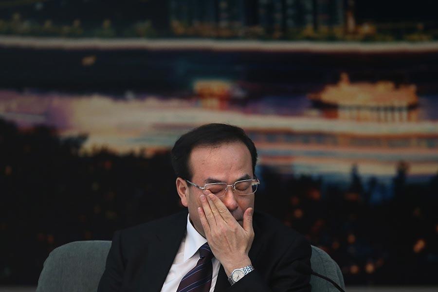 據12月11日最高檢消息,將對孫政才立案偵查並採取強制措施。(Feng Li/Getty Images)