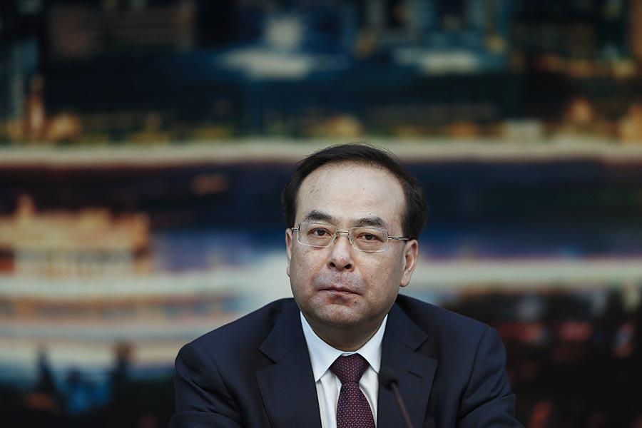 孫政才被免重慶市委書記後,去向不明仍「失蹤」。(Lintao Zhang/Getty Images)