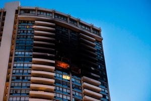 夏威夷高樓失火 母子喪生 官員稱本不該發生