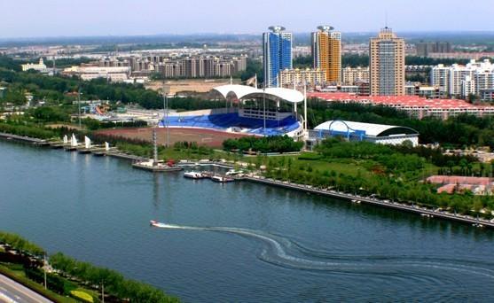 圖為通州大運河。(網絡圖片)
