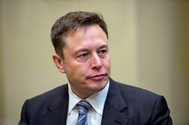 特斯拉電動車公司創始人馬斯克(Elon Musk)對未來人工智慧的發展感到憂心。(AFP)