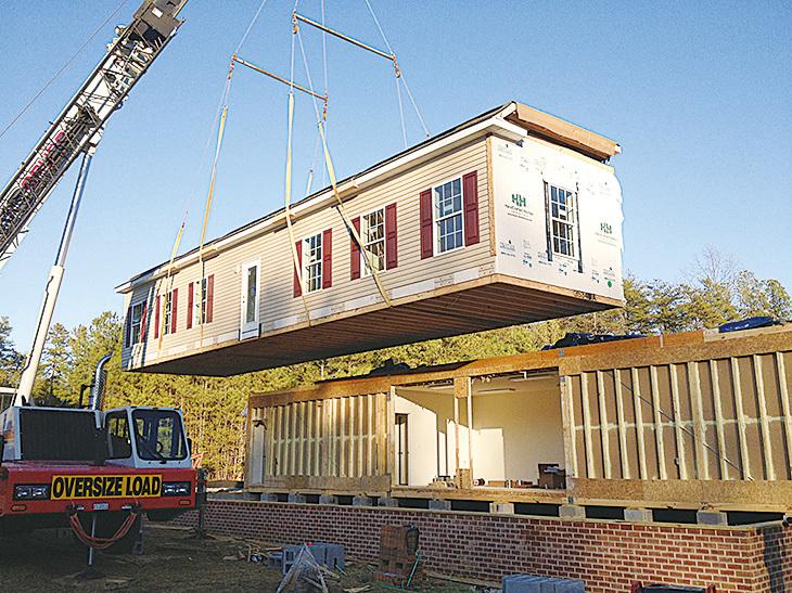 工地外建房(Off-site construction)。(網絡圖片)