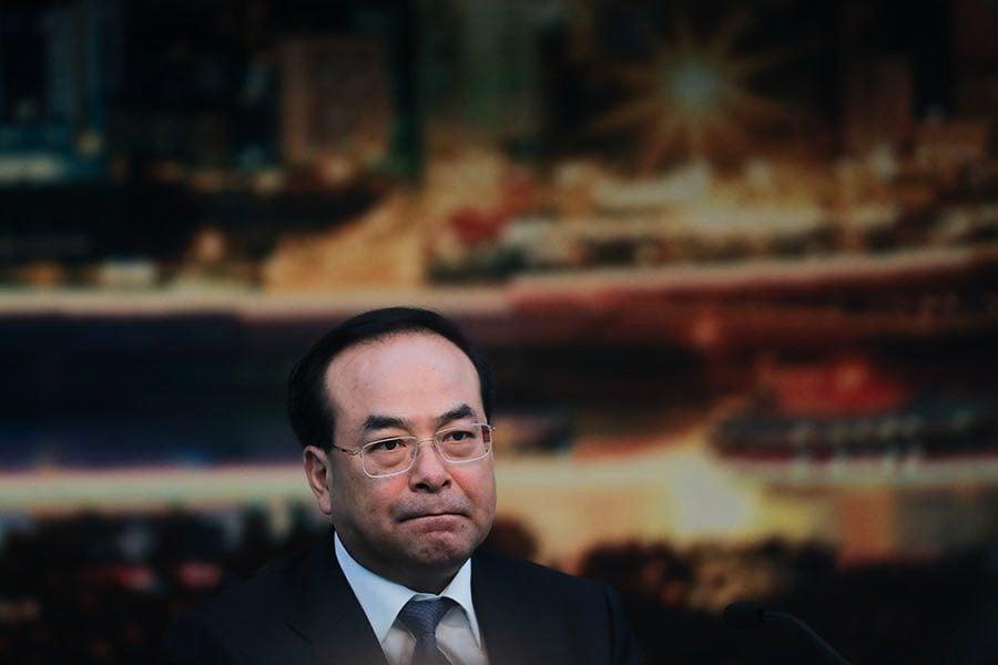 孫政才被點名:政經問題交織的腐敗份子