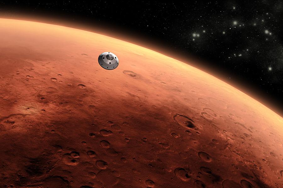 NASA火星探索計劃。(NASA)