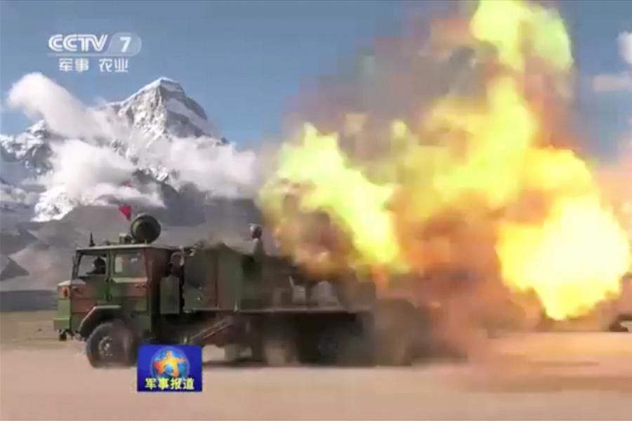 印欲外交解決對峙 中方提條件 西藏實彈演練