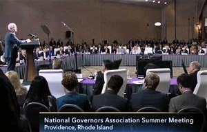 出席全美州長會議 杜魯多和彭斯說了甚麼