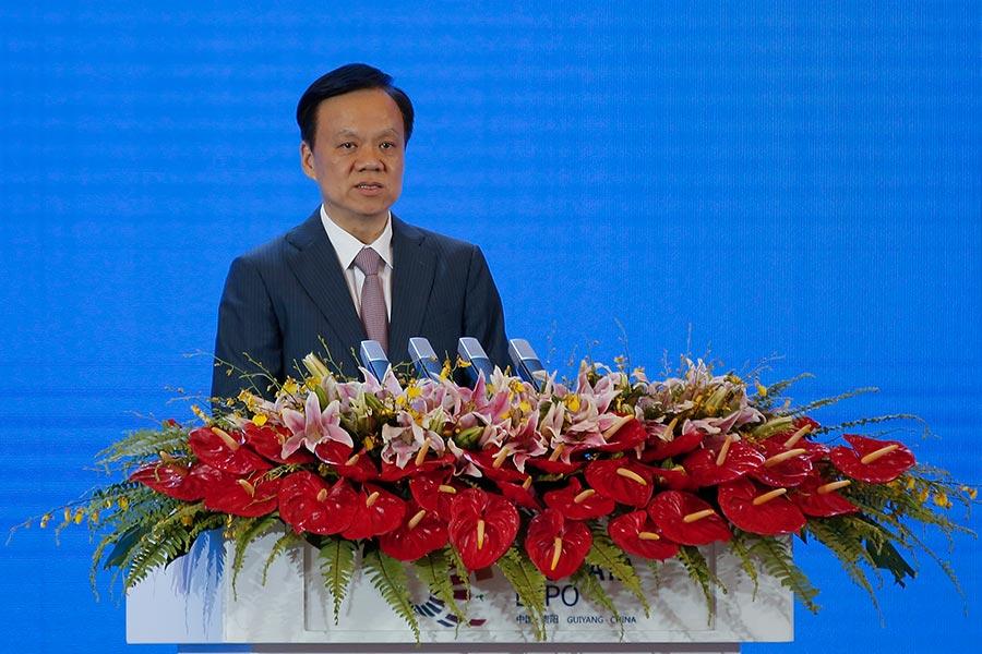 陳敏爾調任重慶市委書記,被認為是中共十九大熱門人選。(Lintao Zhang/Getty Images)