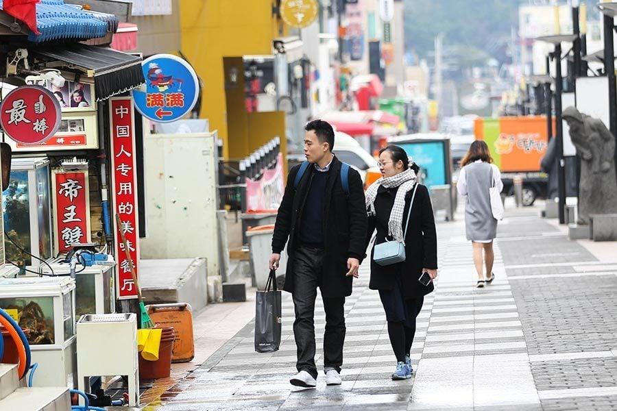 中共批准濟州航空包機 限韓令解凍信號?