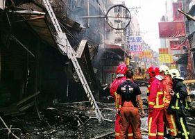 爆炸威力強大 台逢甲商圈餐廳氣爆1死15人傷