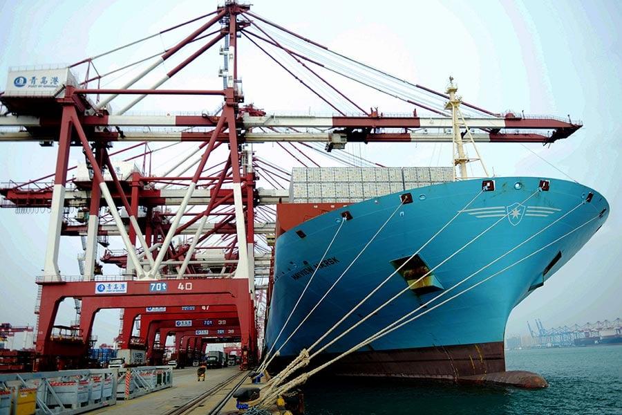 中國對美國的貿易順差2017年上半年再創新高,媒體預測星期三(7月19日)的中美全面經濟對話,貿易話題可能成為雙方爭論焦點,雙方要求進一步開放市場。(STR/AFP/Getty Images)