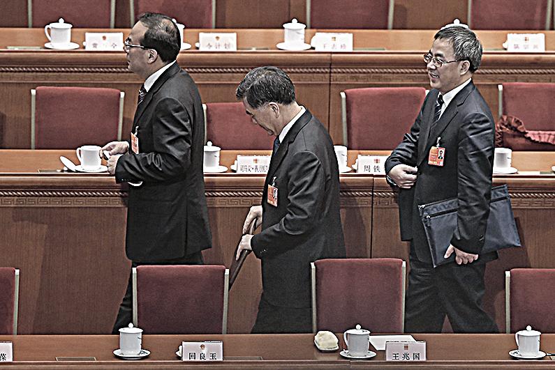 胡春華(右)和孫政才(左)分別被傳是下任中共總書記及總理人選。(Getty Images)