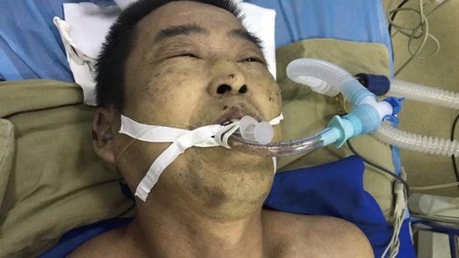 楊玉永被天津武清看守所迫害致死,當局拒律師介入,並恐嚇家屬要求噤聲。(受訪者提供)