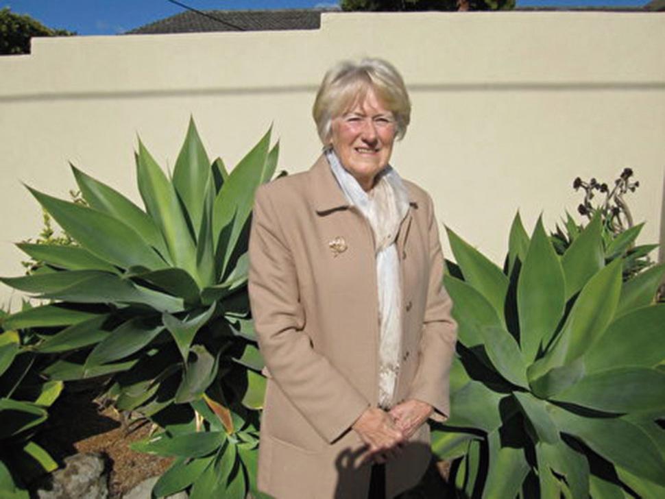前奧運名將Jan Becker女士近照。(Jan Becker提供)