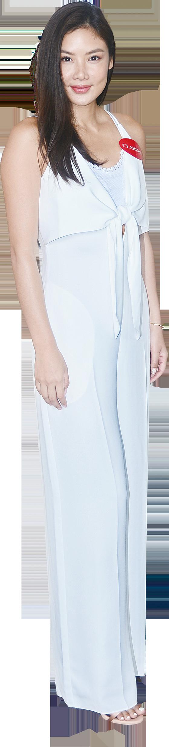 樂基兒在銅鑼灣出席護膚品牌活動,透露婚禮定在8月27日在美國加州舉行。(宋碧龍/大紀元)