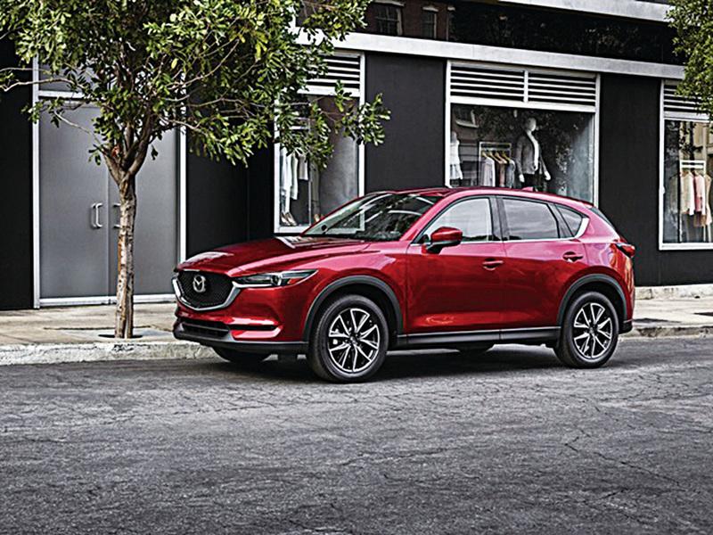 2017款Mazda CX-5獲美國IIHS最高安全評級