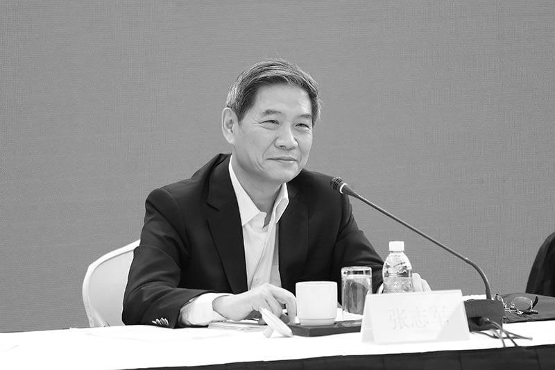 官方公佈的十九屆中央委員會委員名單顯示,國台辦主任張志軍出局。(網絡圖片)