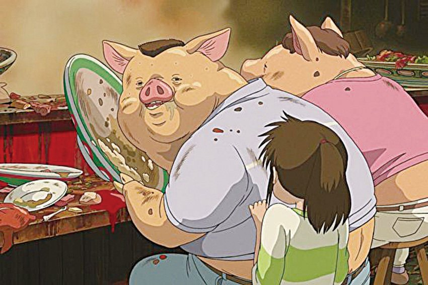 千尋父母為何變豬?宮崎駿工作室15年後解謎