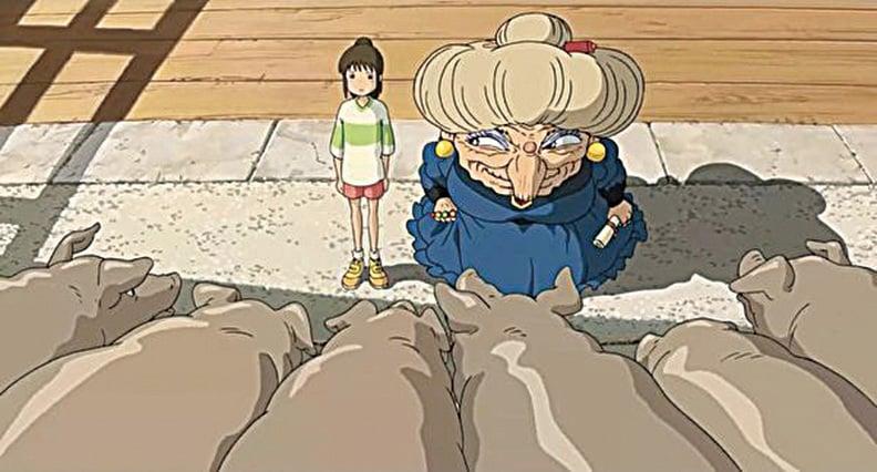 千尋面對湯婆婆給的最終試驗。(網絡圖片)