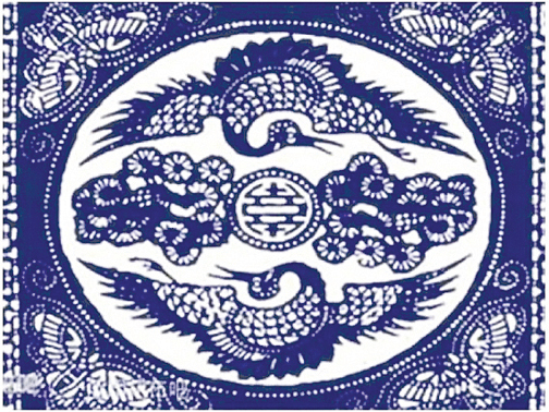 「松鶴延年」圖案,寓意健康長壽,得享仙人之福。(網絡圖片)