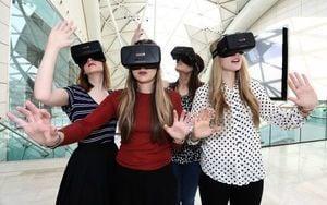 臉書頭盔發貨 VR面面觀