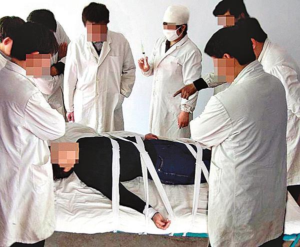新疆大學生被警察打毒針致死
