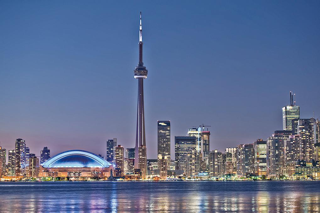 加拿大第一大城市多倫多。(Fotolia)