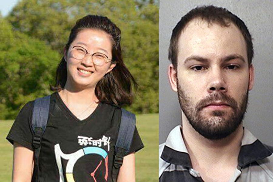 7月20日下午,涉嫌綁架伊利諾伊大學香檳分校中國女學者章瑩穎的嫌犯克里斯滕森(Brendt Christensen)將在香檳縣聯邦法院被提審(arraignment)。(大紀元資料室)