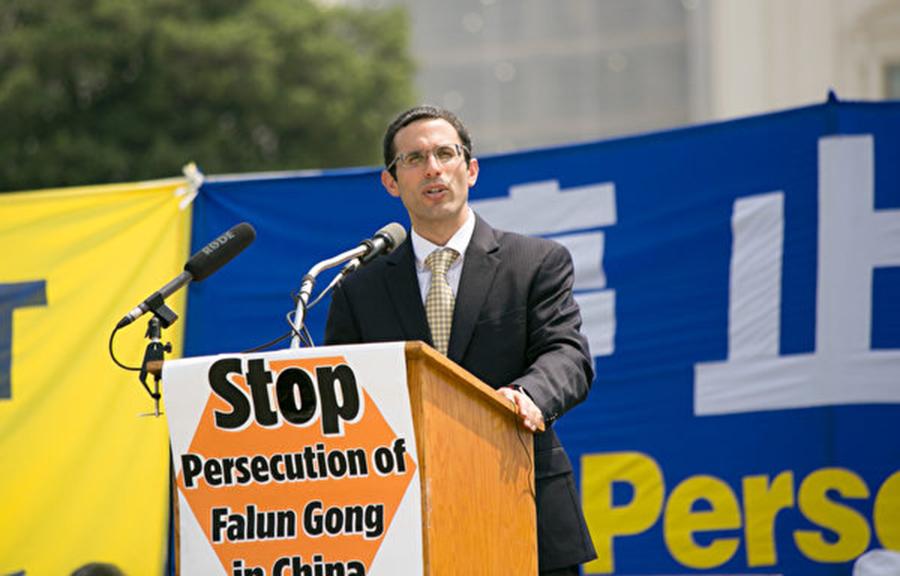 美國「國際宗教自由委員會」( USCIRF)主席丹尼爾.馬克(Daniel Mark)。(李莎/大紀元)