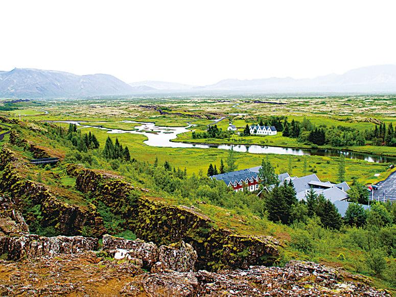 冰島黃金圈主要景點─議會舊址。(Ville Miettinen/Flickr)