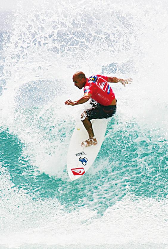 澳洲黃金海岸是衝浪樂園。(Jonathan Wood/Getty Images)