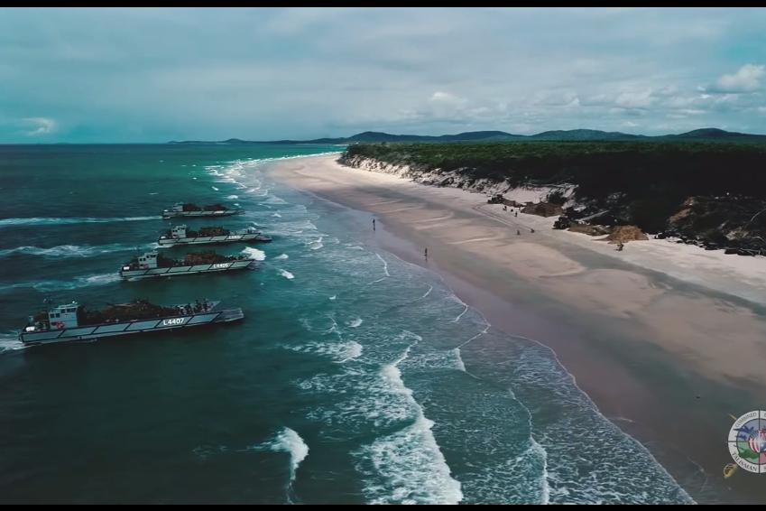 現身澳美軍演海域 中共間諜船被指「挑釁」