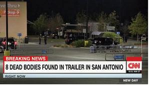逾百人熱天搭貨車偷渡美國 9死29傷