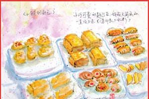 【彩繪生活】(321)麵包小舖
