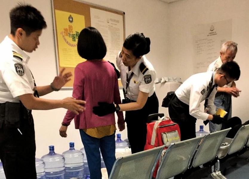 港府違法遣返45人 台灣法輪大法學會嚴正抗議