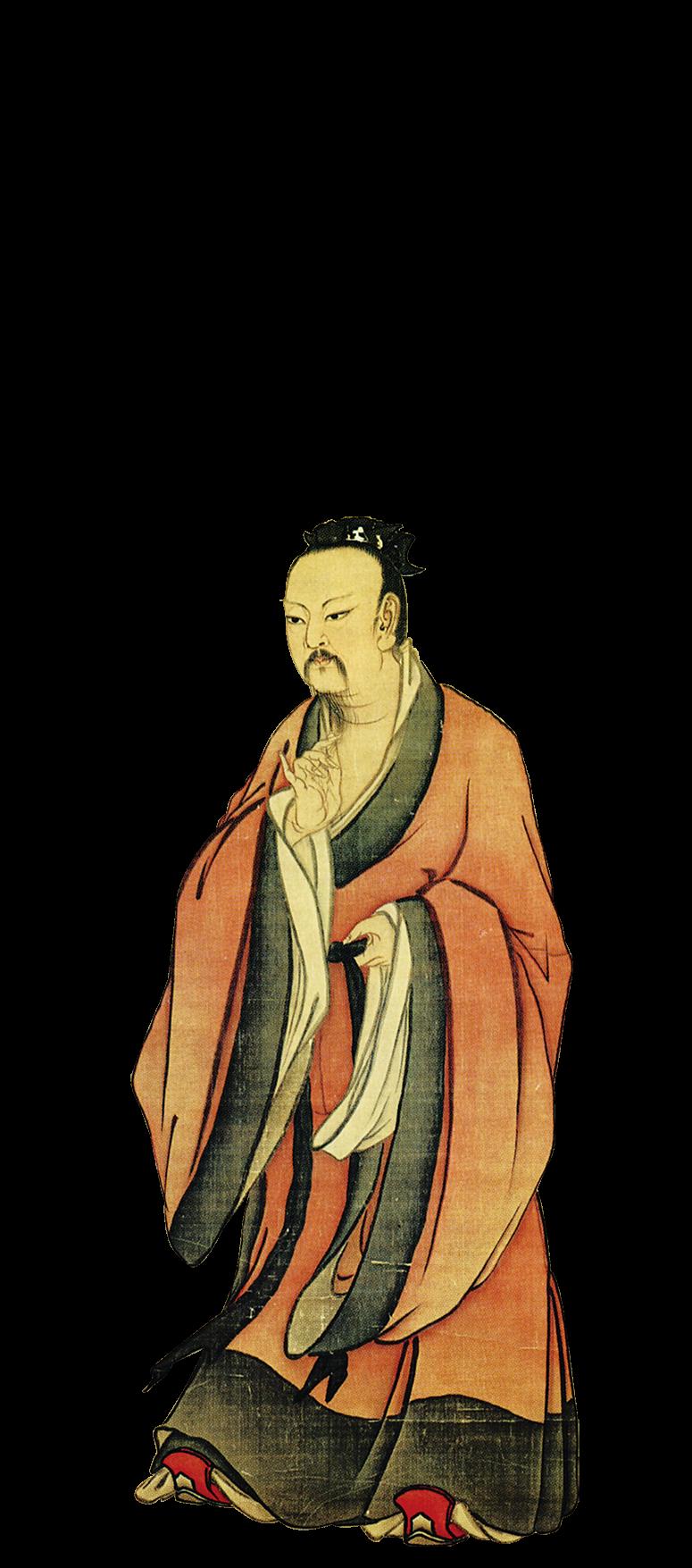 南宋畫家馬麟畫的帝堯像。(公有領域)